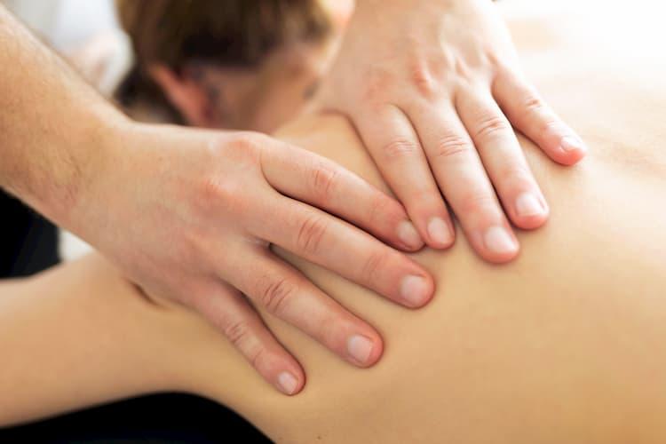 Masaje terapia manual
