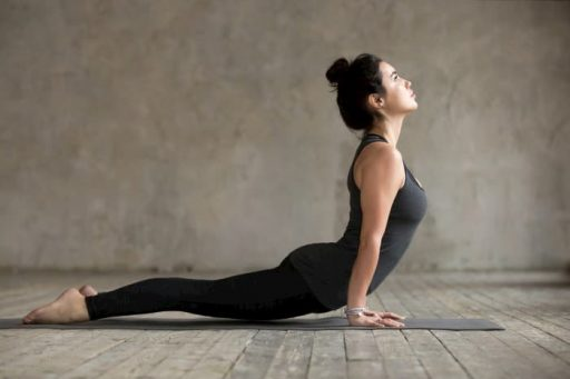 Postura en extensión pilates