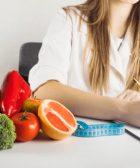 Dietista en armilla