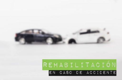 Rehabilitación accidente de tráfico
