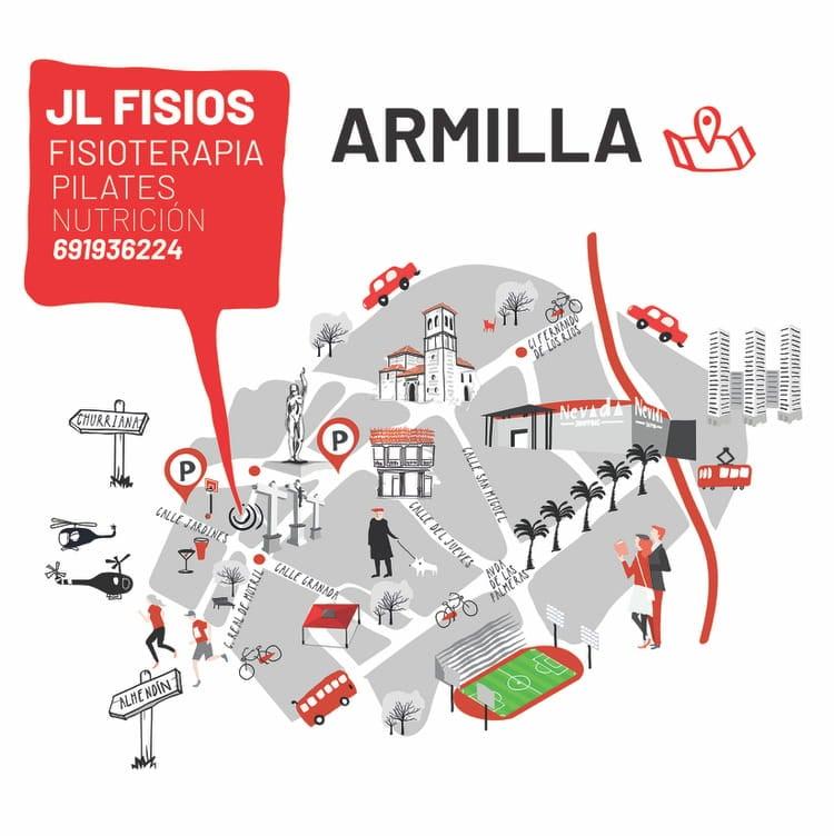 Mapa de Armilla