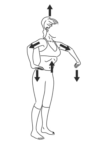 Hipopresivos de pie