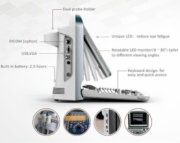 Ecografo portatile diseño